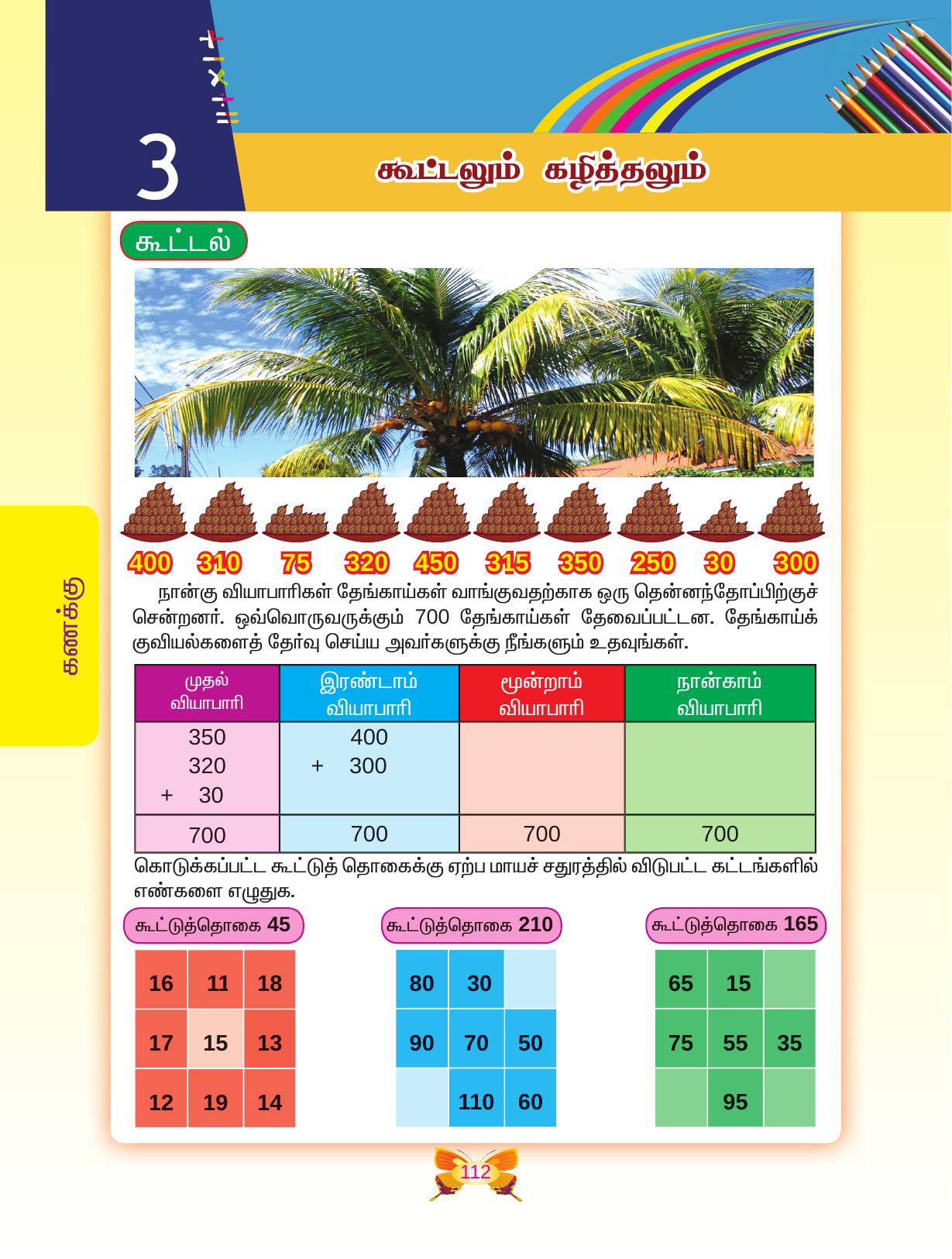 Grade / Standard / Class 04, Tamil Medium, Mathematics Text Book II